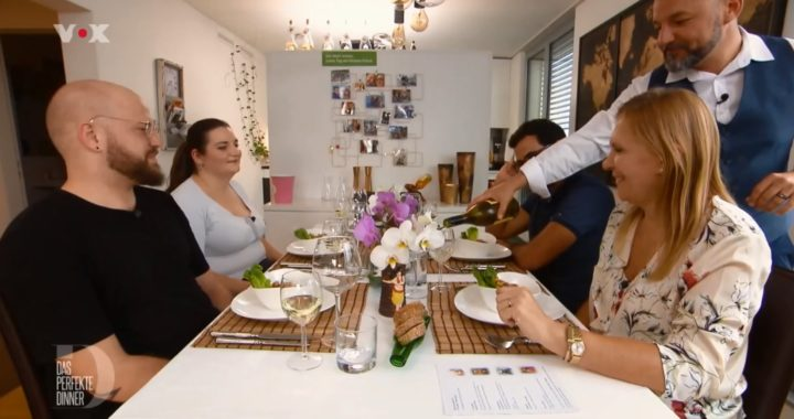 """Maui Blanc bei """"Das perfekte Dinner"""""""